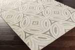 Surya Perspective PSV-41 Taupe/Aloe/Grey Area Rug