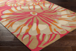 Surya Rain RAI-1262 Burnt Orange/Coral/Olive/Taupe Area Rug