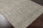 Surya Reeds REED-803 Mulled Wine/Winter White Area Rug