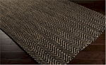Surya Reeds REED-805 Black Olive/Tan Closeout Area Rug - Fall 2014