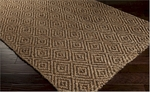 Surya Reeds REED-806 Tan/Coffee Bean Closeout Area Rug