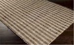 Surya Reeds REED-815 Coffee Bean/Winter White Closeout Area Rug - Fall 2014