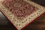 Surya Riley RLY-5039 Burgundy/Beige/Olive Closeout Area Rug - Fall 2015