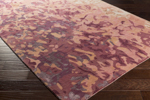 Surya Remarque RRQ-2003 Salmon/Coral/Burgundy/Chocolate Area Rug