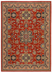 Karastan English Manor 02120-00601 Manchester Red Area Rug
