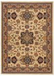 Karastan English Manor 02120-00602 Manchester Ivory Area Rug