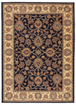 Karastan English Manor 02120-00605 Oxford Navy Area Rug