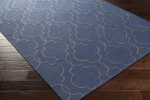 Surya Seabrook SBK-9009 Cobalt/Grey Closeout Area Rug