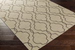 Surya Seabrook SBK-9015 Light Grey/Black Closeout Area Rug