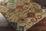 Surya Scarborough SCR-5146 Olive/Rust/Emerald/Kelly Green Closeout Area Rug