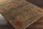 Surya Scarborough SCR-5147 Olive/Rust/Cherry Closeout Area Rug - Fall 2015