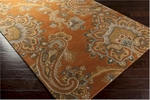 Surya Sea SEA-170 Copper Penny/Caramel/Mossy Gold Area Rug