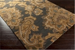 Surya Sea SEA-172 Driftwood Brown/Caper Green/Mossy Gold Area Rug