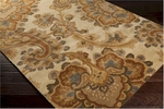 Surya Sea SEA-173 Dark Khaki/Caramel/Brown Sugar Area Rug