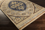 Surya Smithsonian SMI-2148 Taupe/Navy/Gold Closeout Area Rug - Fall 2015