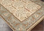 Surya Sonoma SNM-9008 Taupe Beige/Pale Gold/Slate Green Area Rug