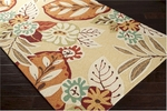 Surya Storm SOM-7713 Blond/Golden Ochre/Paprika Closeout Area Rug - Fall 2014