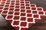Surya Storm SOM-7751 Burgundy/Butter Closeout Area Rug - Fall 2015