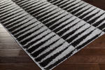 Surya Swift SWT-4010 Black/Light Grey Closeout Area Rug