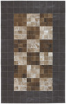 Surya Trail TRL-1085 Brown Leather Closeout Area Rug - Fall 2009