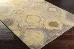 Surya Watercolor WAT-5010 Butter/Light Grey/Olive Area Rug