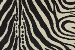 WILDLIFE PLAINS ZEBRA WLD04 IVORY-B - Nourison offers an extraordinary selection of premium broadloom, roll runners, and custom rugs.