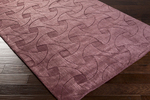 Surya Wave WVE-1008 Eggplant Closeout Area Rug - Spring 2015
