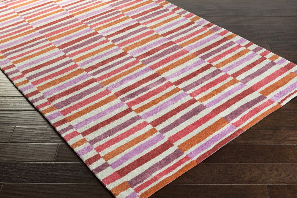 ... Young Life YGL-7009 Coral/Rust/Orchid Closeout Area Rug - Fall 2015