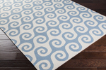 Surya Yacht Club YTC-2031 Ivory/Teal Closeout Area Rug - Fall 2014
