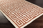 Surya Columbia CBA-118 Beige/Cherry Closeout Area Rug - Fall 2015