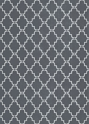 Couristan Landmark 1341/0001 Kinsley Charcoal Area Rug