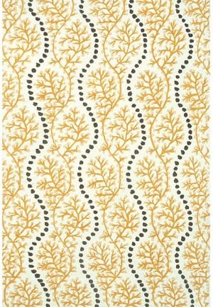 rug market resort 25439 coral cascade yellow grey white area rug. Black Bedroom Furniture Sets. Home Design Ideas