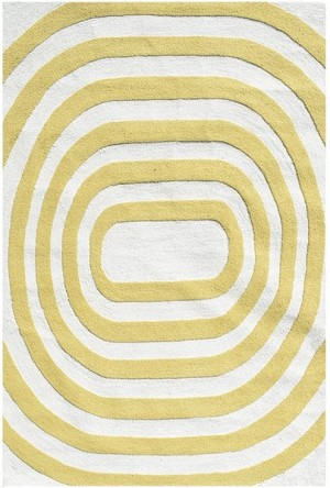 Rug Market Resort 25479 Mod Yellow Closeout Area Rug
