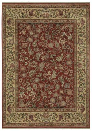 Shaw Kathy Ireland Home International First Lady Grand Expressions 08800 Ancient Red Closeout Area Rug