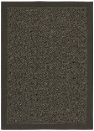 Shaw Living Woven Expressions Platinum Parisienne 01700 Dark Cocoa Closeout Area Rug - 2014