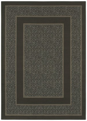 Shaw Living Woven Expressions Platinum Majestic Leopard 04700 Dark Cocoa Closeout Area Rug