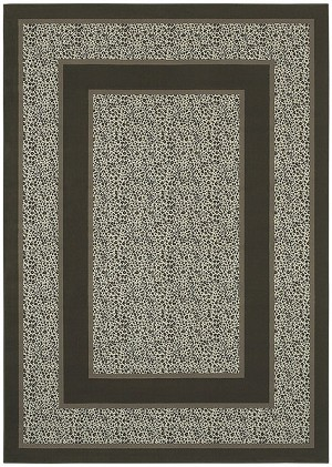 Shaw Living Woven Expressions Platinum Majestic Leopard 04702 Almond Closeout Area Rug - 2014