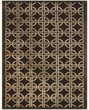 Feizy Dim Sum 6071F Chocolate Closeout Area Rug
