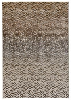 Feizy Cannes 3686F Dark Gold Area Rug