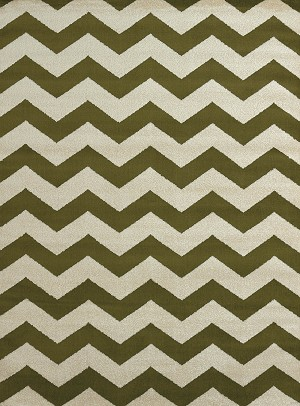United Weavers Visions 970 20048 Chevron Avocado Closeout Area Rug