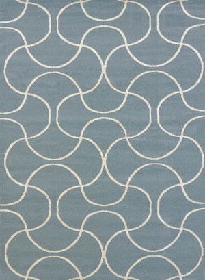 United Weavers Visions 970 20660 Pavane Blue Closeout Area Rug