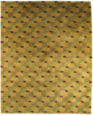 Bashian Tribeca A134 P218 Studio Gold Closeout Area Rug