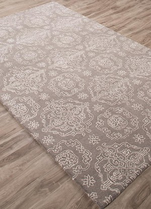 Jaipur Ashland ASH02 Miel Steeple Gray & Light Gray Area Rug