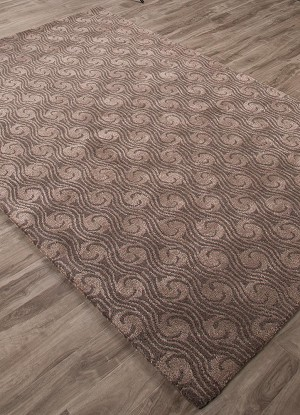 Jaipur Baroque BQ33 Andre Walnut & Simply Taupe Closeout Area Rug