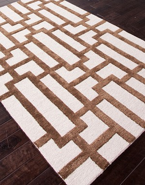 Jaipur City CT23 Dallas Antique White/Cocoa Brown Closeout Area Rug - Spring 2014