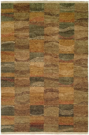 Allara Jagraon AG-1005 Multi Earth Tones Closeout Area Rug