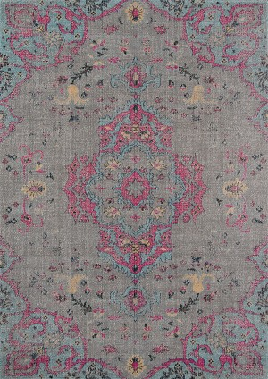 Momeni Jewel JW-02 Grey Area Rug