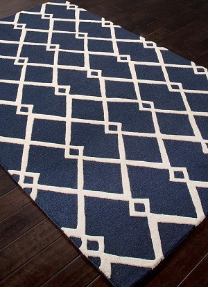 Jaipur Lounge LOE20 Maysoon Light Gray & Estate Blue Closeout Area Rug