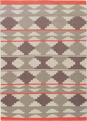 Jaipur Traditions Made Modern Cotton Flat Weave MCF10 Cusco Atmosphere & Cinder Area Rug