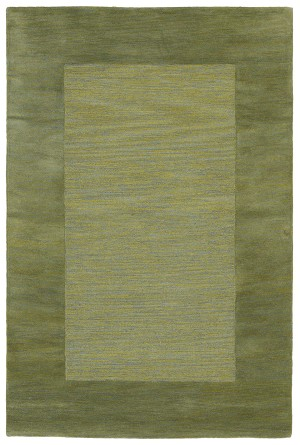 Trans-Ocean Mercer 1225/06 Border Green Area Rug
